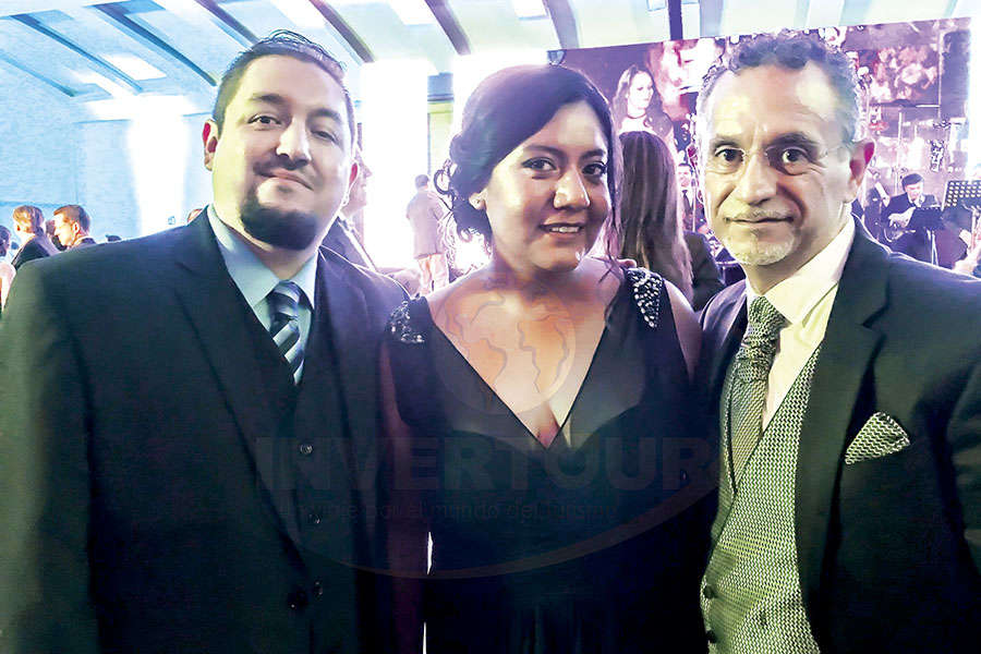 Ángel Rodríguez, Paty Torres y Jaime Rogel