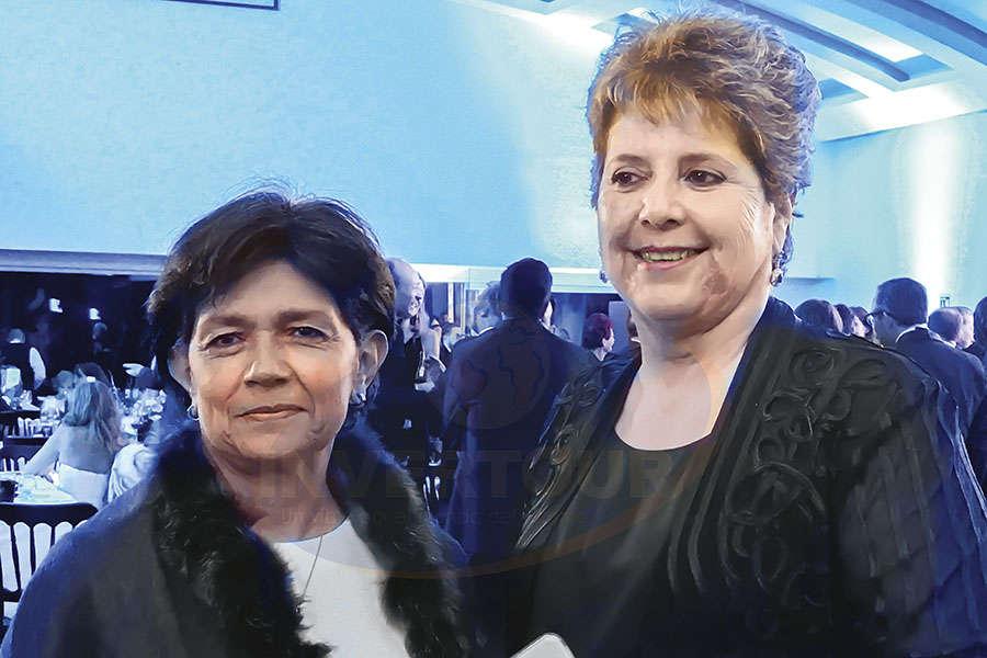 Beatriz Galindo con Yvette Vinay