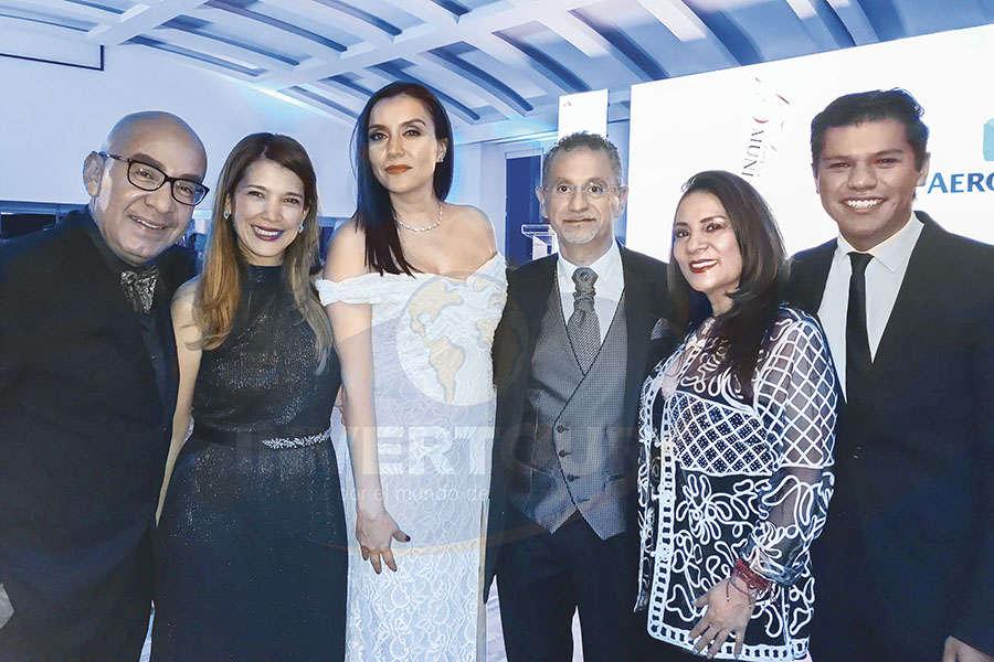 Erwin Romero, Carla Guerrero, Diana Olivares, Jaime Rogel, Ruth Leal y Rodrigo Betancourt