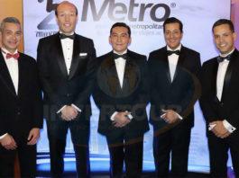Jaime Díaz, Anko van der Werff, Edgar Solís, Giancarlo Mulinelli y José Luis Viveros