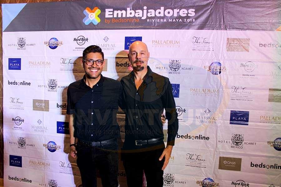 Adrián Rodríguez y Wally Dagri