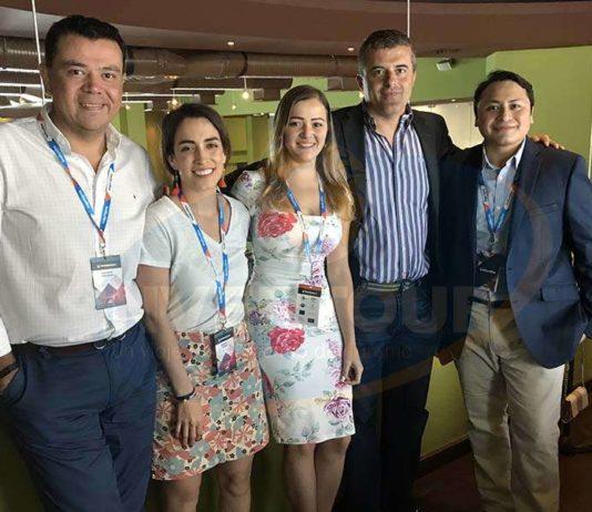 Mauricio González, Marcella Corona, Alicia Orta Stanford, Xisco Morla y Carlos Caamal-Jiménez