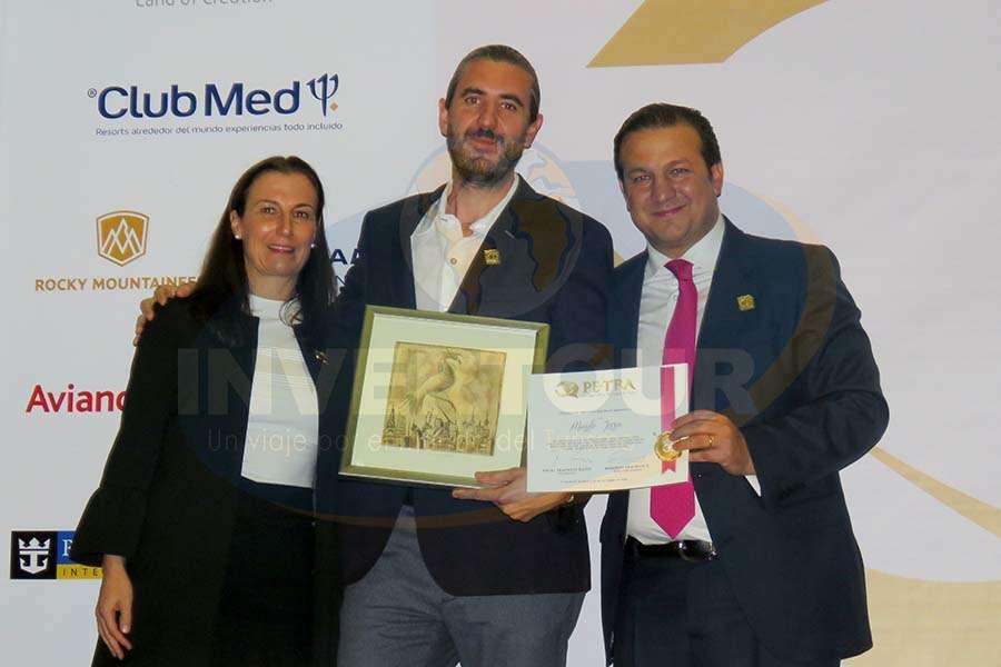 Sandra Weber, Jordi Llorens y Roberto Trauwitz