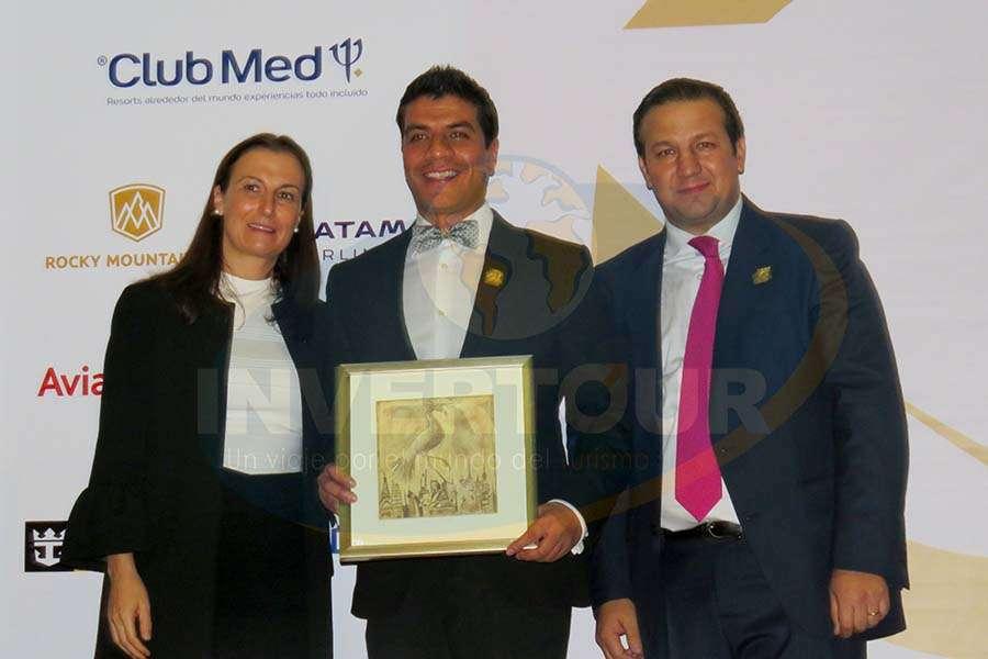 Sandra Weber, Jorge Flores y Roberto Trauwitz