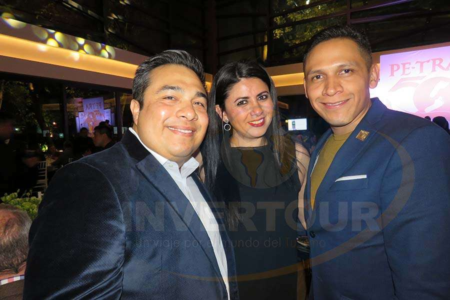Julio Nolasco, Betty Sandoval y Rodrigo García