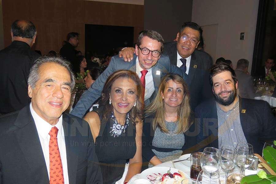 Antonio Madrid, Judith Guerra, Petr Lutter, Jaime Aquino, Marta Sánchez Oquillas y Oriol Riera