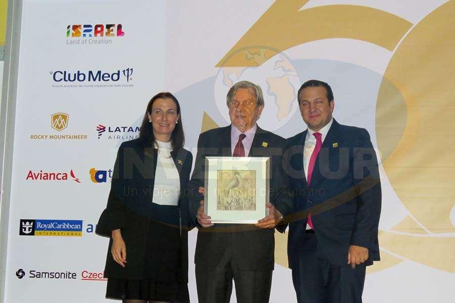 Sandra Weber, Melchor Baixas y Roberto Trauwitz