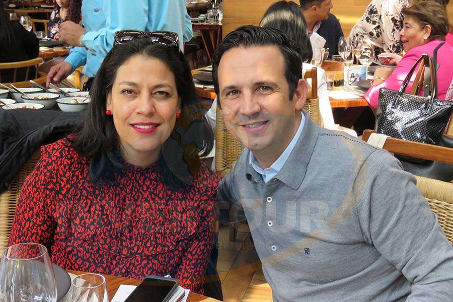 Mónica Villaseñor y José Trauwitz