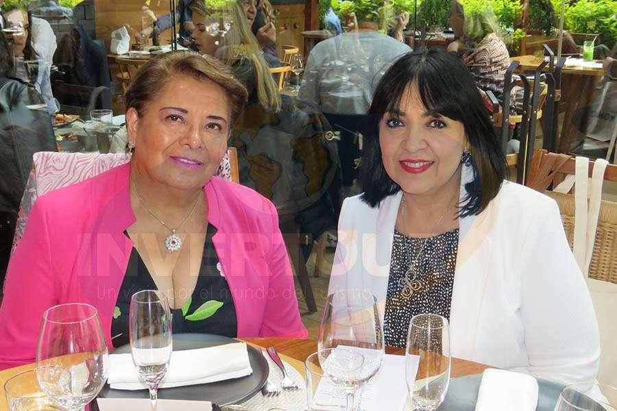 Mary Ledezma y Miriam González