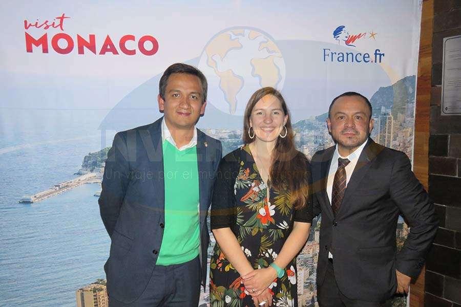 Camilo Abril, Mélanie Belin y Miguel Galicia