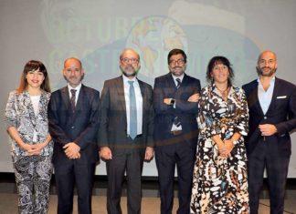 Isabel Alonso, Miguel Utray, Juan López-Dóriga, Juan Castro, Zaida Semprún y Álvaro Guillén