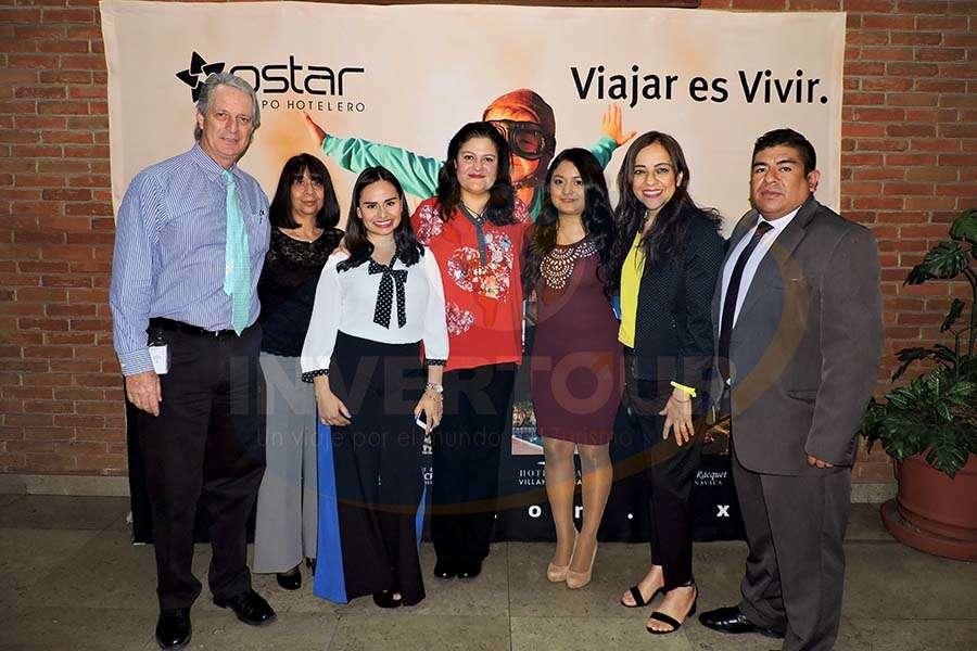 Luis Felipe Barrera, Guadalupe González, Mayra Martínez, Karen Cuéllar, Mitzi García, Araceli Ronces y Pedro Rosas