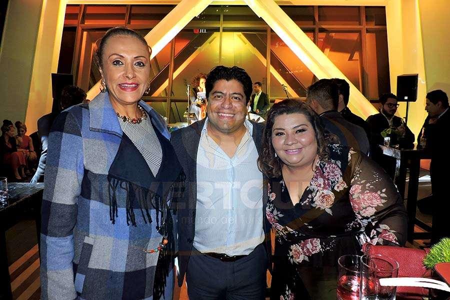 Judith Guerra, Edgar Ramírez y Celida Puente