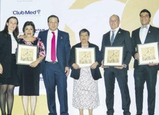 Sandra Weber, Hermelinda Mundo, Roberto Trauwitz, María de la Cruz Arredondo, Federico Monterrubio y Jorge Flores