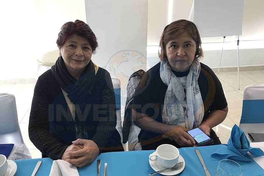 Rocío Aguilar y Lilia García