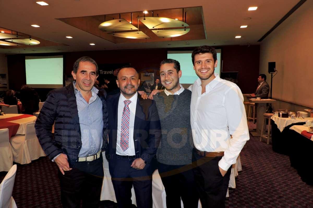 Miguel Galicia, Rubén Mora y Max Ortega