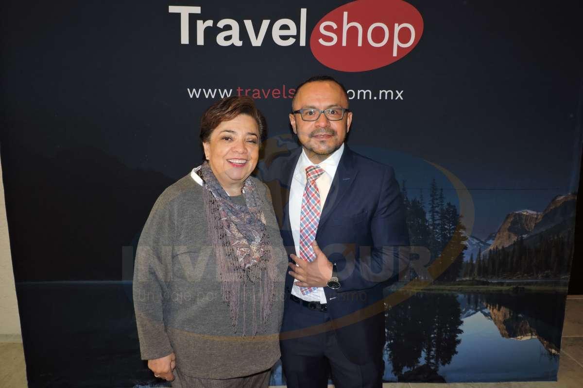 Maru Bravo con Miguel Galicia