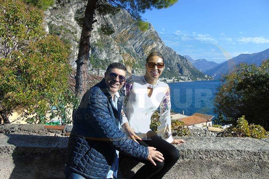 Horacio López con Claudia Agudelo