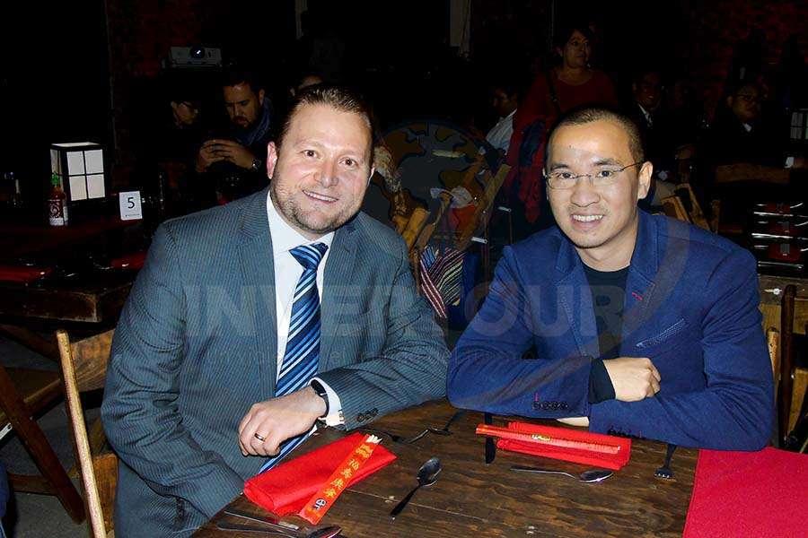 Juan Socas y Junmin Huang