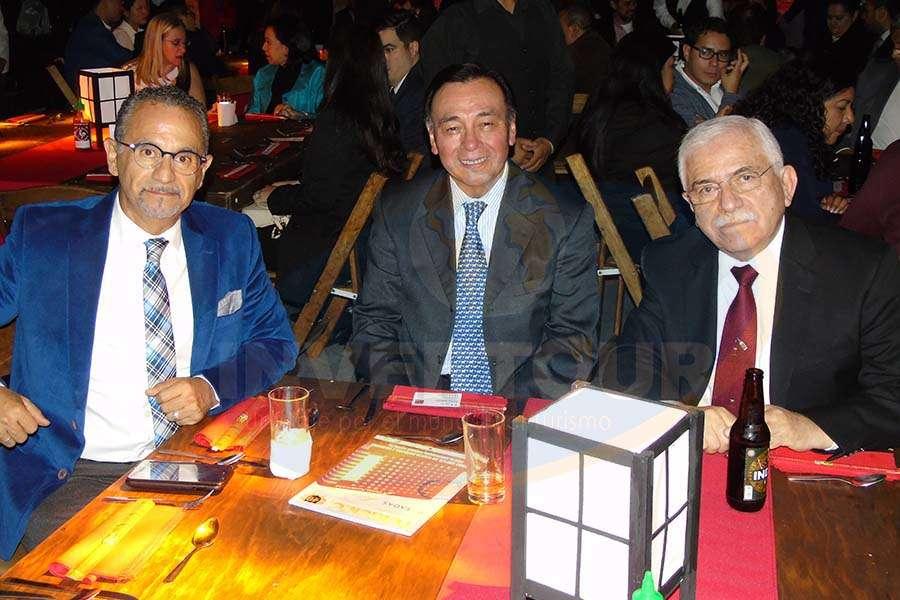 Jaime Rogel, Josué Meza y César Romero