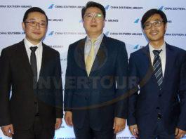 Wu Yingjun, Kevin Hou y Diego Jiang