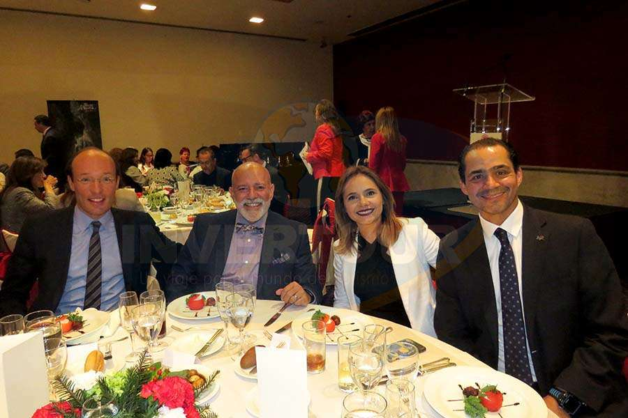 Anko van der Werff, Ángel Álvarez, Luisa Fernanda Cabrera y Benjamín Díaz