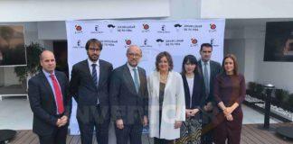 Javier Rosell, Massimo Baldo, Juan López-Dóriga, Patricia Franco, Isabel Alonso, Ignacio García y Ana Isabel Fernández