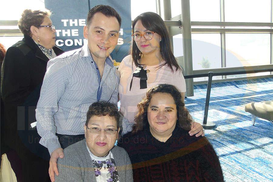 Víctor Jiménez, Ana Laura Ameca, Lulú Trejo y Yazmín Vargas