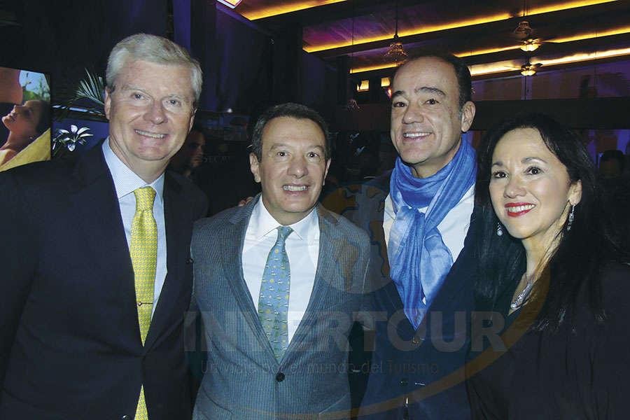 Gabriel Felip, Gonzalo del Peón, Alex Zozaya y Yarla Covarrubias