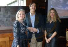 Lucía Gómez, Rodrigo Donoso y Ana María Varela
