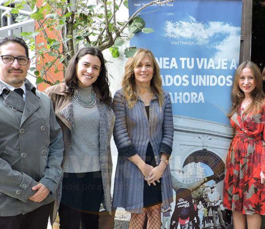 Omar Hernández, Inés Gorozpe, Lourdes Berho, Tere Medina y Macarena Arrigunaga