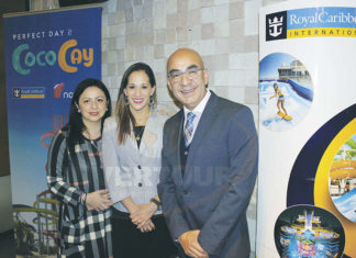 Claudia Garduño, Gina Jiménez y Erwin Romero
