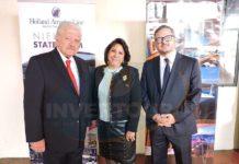 Julio Laguna, Blanca Olivera y Julio Laguna López