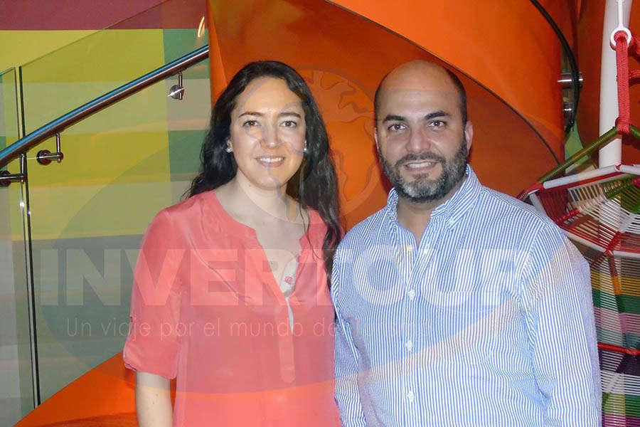 Fernanda Maldonado con Manlio Carpizo