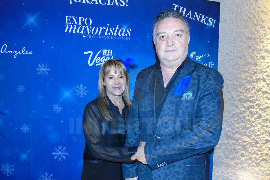 Sara Gómezortigoza con Luis Grosvenor