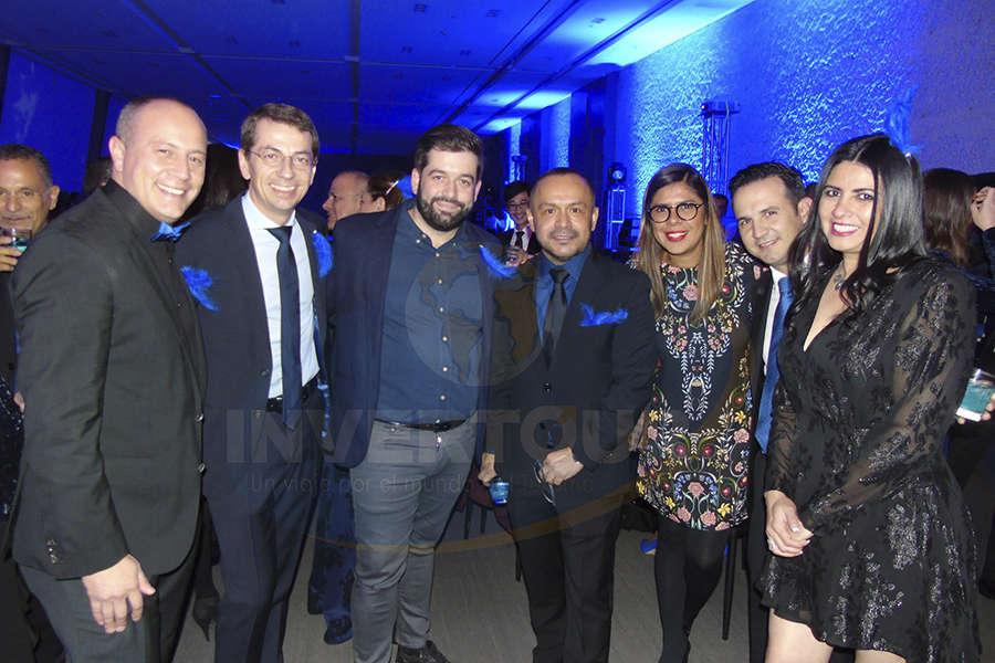 Federico Monterrubio, Petr Lutter, Oriol Riera, Miguel Galicia, Daya Cruz, José Trauwitz y Betty Sandoval