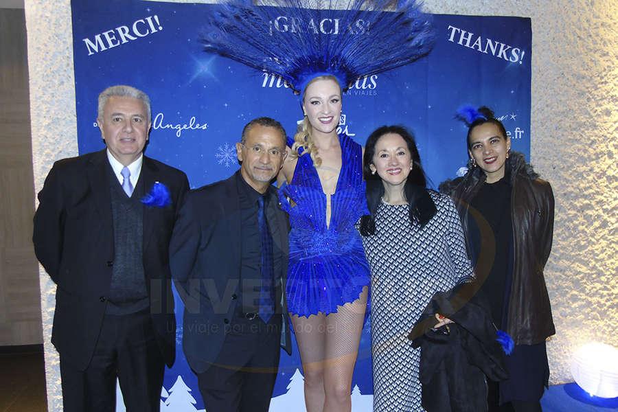 Carlos Collado, Jaime Rogel, Yarla Covarrubias y Claudia Alcántara