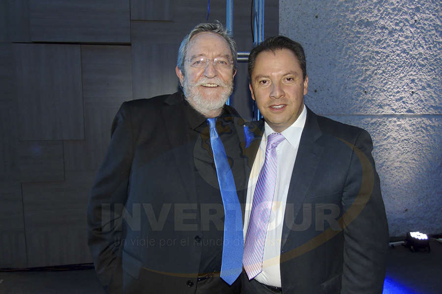 Jorge Sales con Julián Arroyo