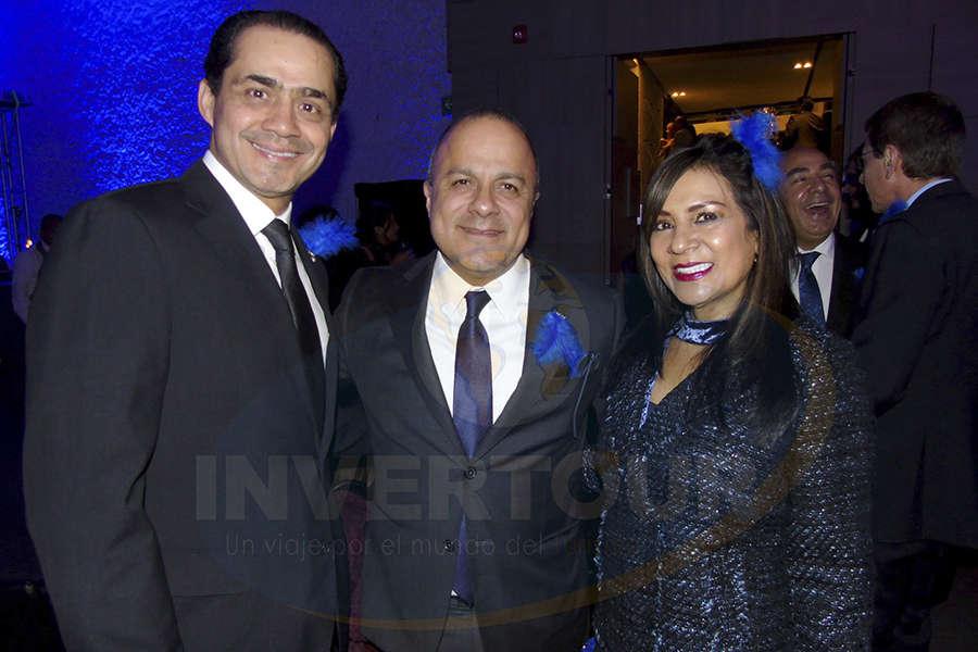 Benjamín Díaz, Benjamín Izquierdo y Ruth Leal
