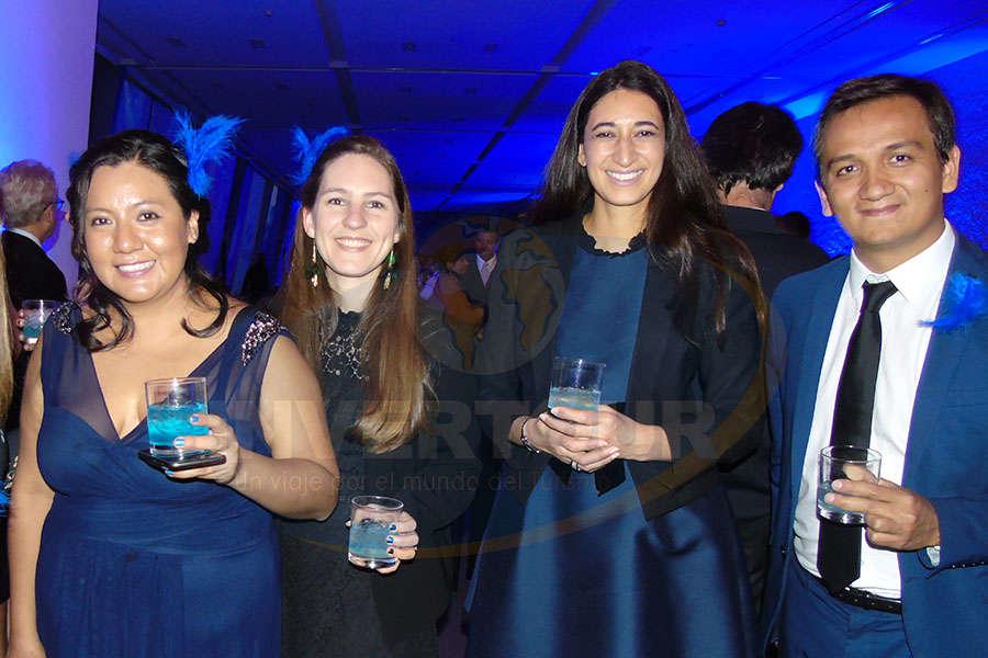 Patty Torres, Mélanie Belin, Sabine Sakthikumar y Camilo Abril