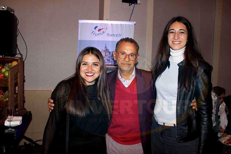 Patricia Mejías, Jaime Rogel y Sabine Sakthikumar