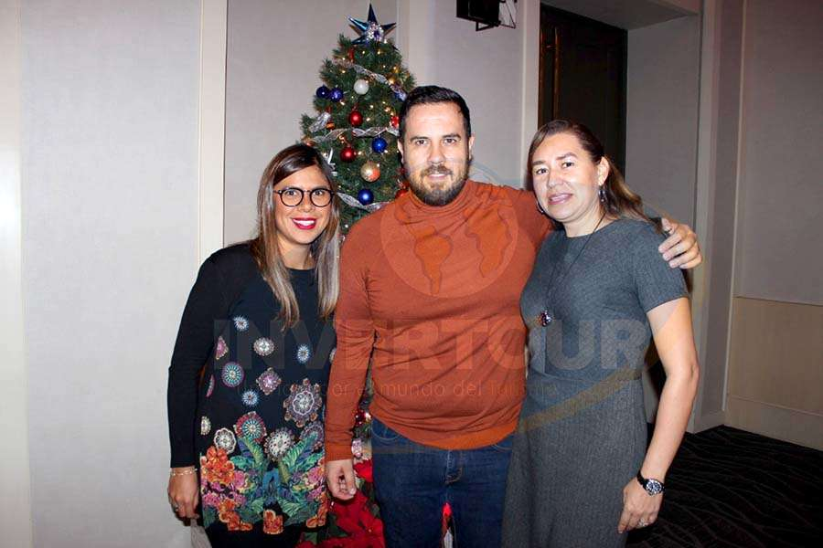 Daya Cruz, Óscar Isgleas y Minerva Hernández