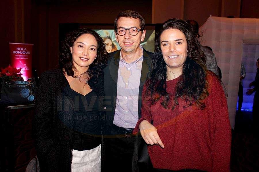 Erika Moreno, Petr Lutter e Irache Fernández