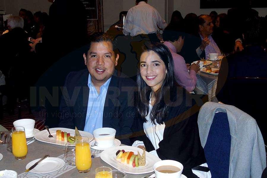 Alberto Cruz con Marielle Bugnot
