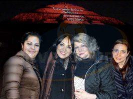 Ivonne Camacho, Miriam González, Berenice Lozano y Paola Durón
