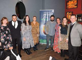 Zuzana Krbilova, Óscar Isgleas, Laura Freire, Begoña Fernández, Oriol Riera, Marta Sánchez Oquillas, Carla García y Enrique Granados