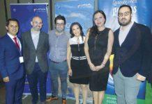 Joaquín Ramírez, Francisco Posada, Oriol Riera, Ana Laura Serrano, Diana Olivares y Óscar Isgleas