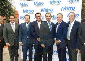Benjamín Izquierdo (presidente electo), Giancarlo Mulinelli, Roberto Trauwitz, Mauricio González, Benjamín Díaz, Alex Pace, Jorge Sales y Edgar Solís (presidente saliente)