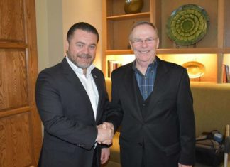 Fernando Olivera con Jim Darling