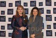 Gloria Guevara con Maribel Rodríguez